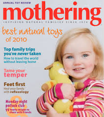 Cover of Mothering magazine
